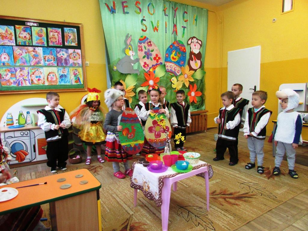 Przedszkole 31 W Lublinie Wielkanocne Obyczaje W Grupie Iii